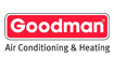Goodman heating and air logo