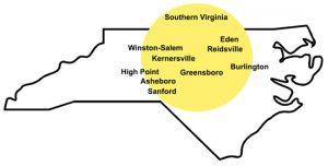 motor oil distribution centers in Greensboro, Eden and Reidsville
