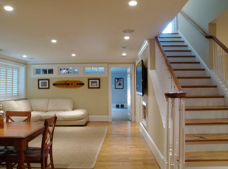 Finished basement photo