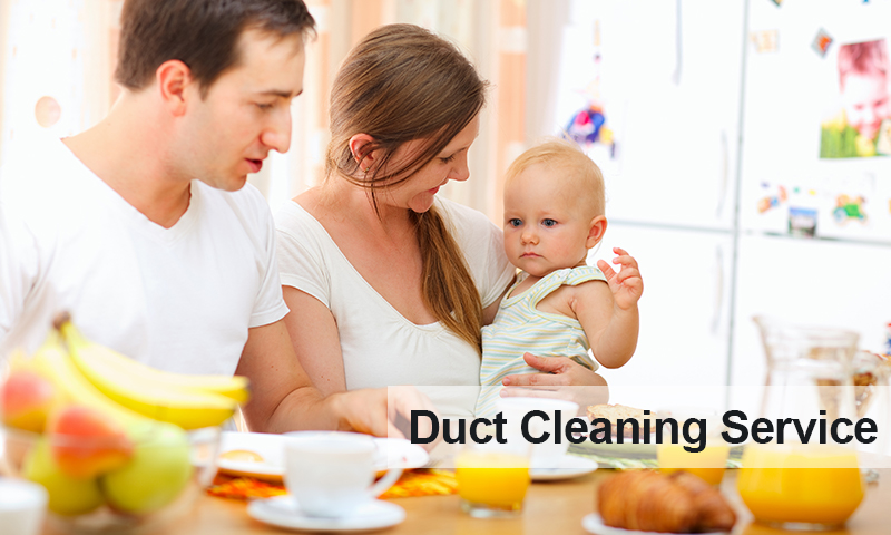 Duct Cleaning Family Slide
