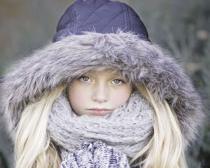 cold young girl